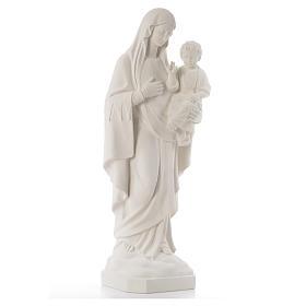 Virgen de la Consolación 80 cm mármol sintético s4