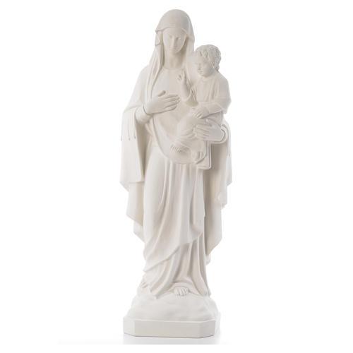 Virgen de la Consolación 80 cm mármol sintético 1