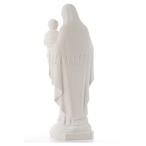 Virgin of the consolation statue, 80 cm in marble dust 3