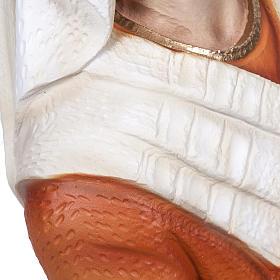 S. Bernadette 50 cm polvere di marmo dipinta s4