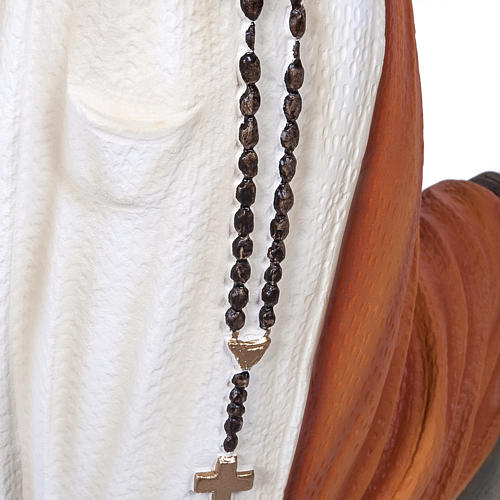 S. Bernadette 50 cm polvere di marmo dipinta 7