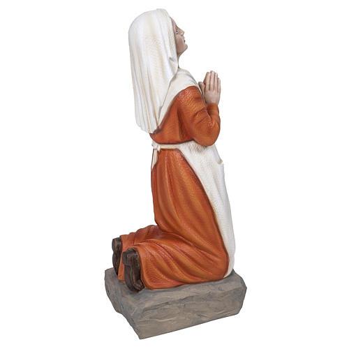 Saint Bernadette statue, 50 cm in painted marble dust 5