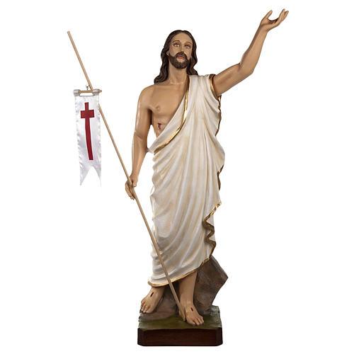 Cristo Risorto 85 cm polvere di marmo dipinto 1