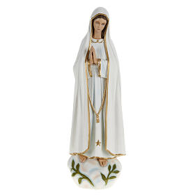 Imagem Nossa Senhora Fátima 60 cm pó de mármore pintado