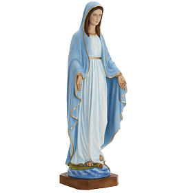 Madonna Miracolosa 80 cm marmo sintetico dipinto s2
