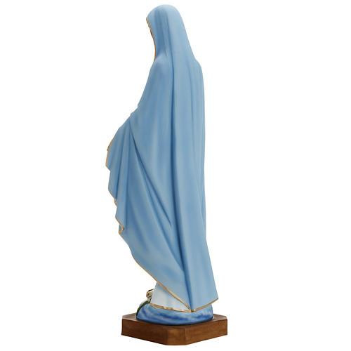Madonna Miracolosa 80 cm marmo sintetico dipinto 7