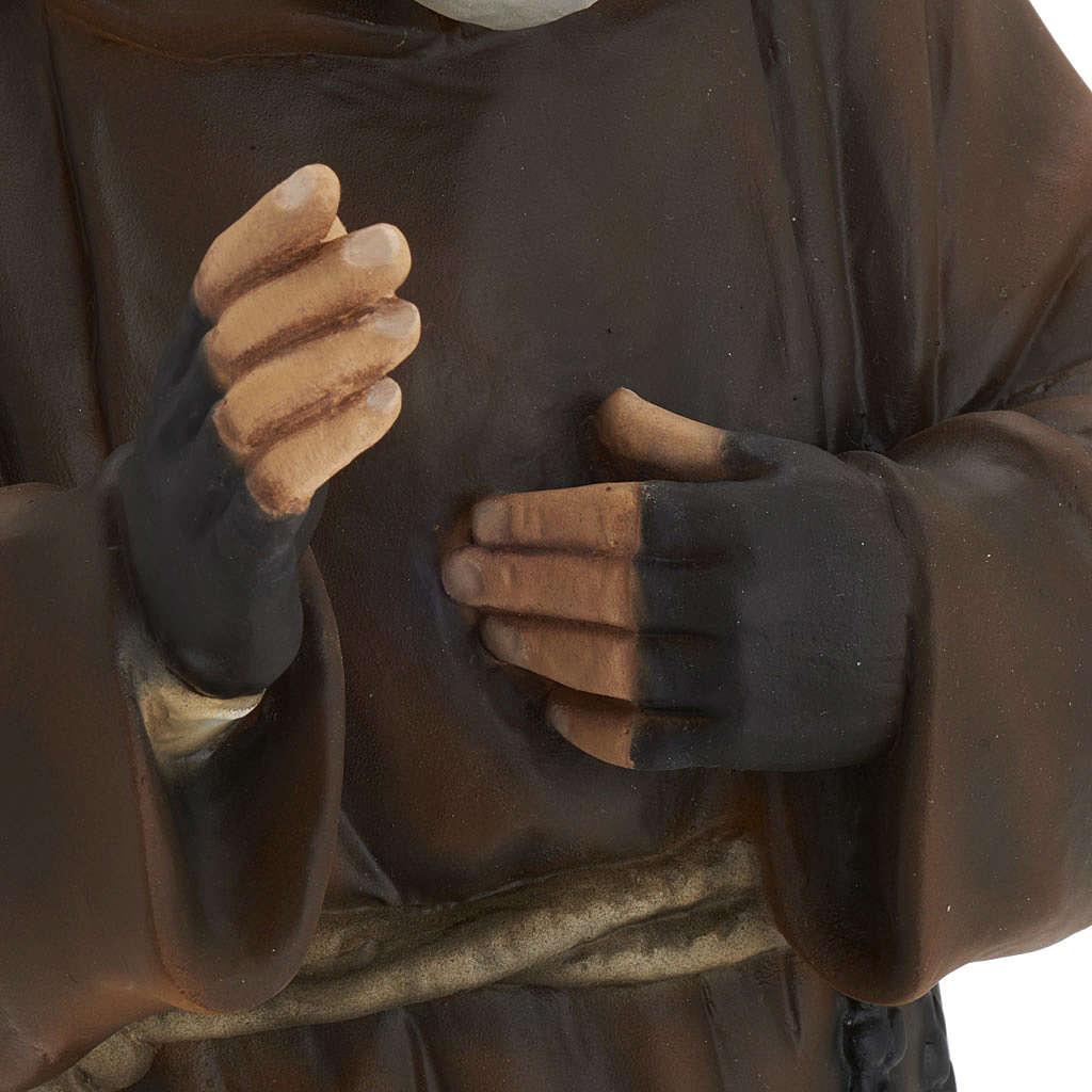 Ojciec Pio 60 cm marmur syntetyczny malowana 4