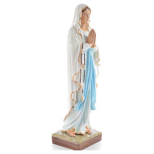 Madonna di Lourdes 60 cm polvere di marmo dipinto 4