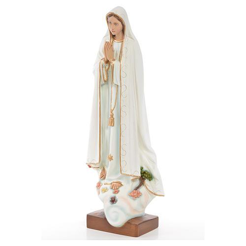 Madonna di Fatima 60 cm polvere di marmo dipinta 2