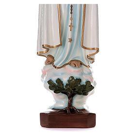 Madonna di Fatima 100 cm marmo sintetico dipinto s5