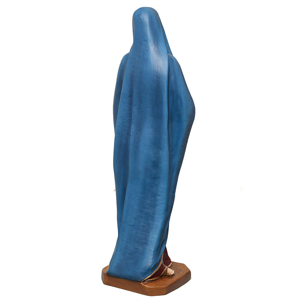 Our Lady of Sorrows statue 100cm in painted marble dust 4