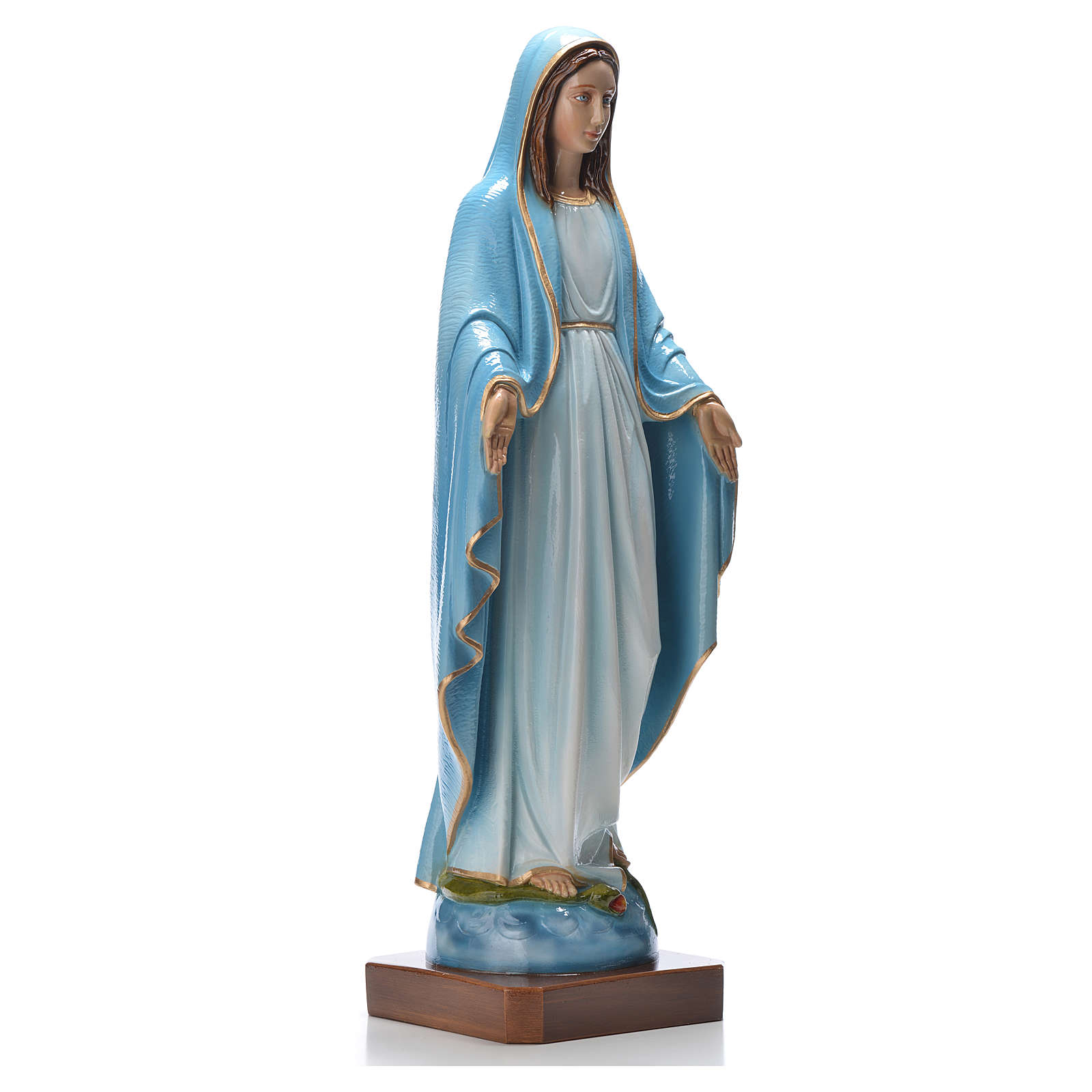 Our Lady of Miracles 50 cm colored marble dust 4