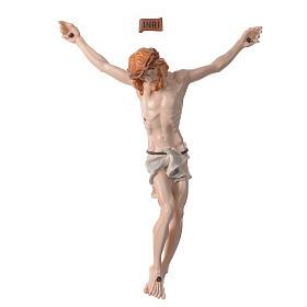 Imagens em Pó de Mármore de Carrara: Corpo de Cristo em pó de mármore pintado à mão