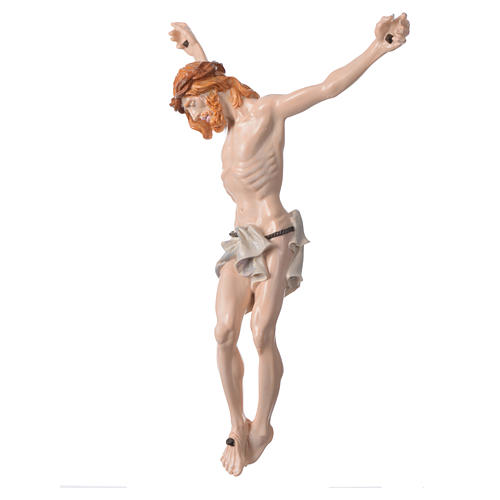 Christ's body in marble dust hand painted 2