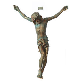Christ's body marble dust finished in bronze s1