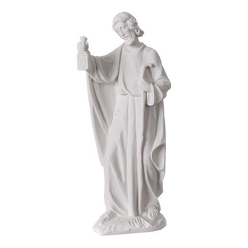Komplett-Krippe, 30 cm, Marmorpulver, 7 Figuren 5