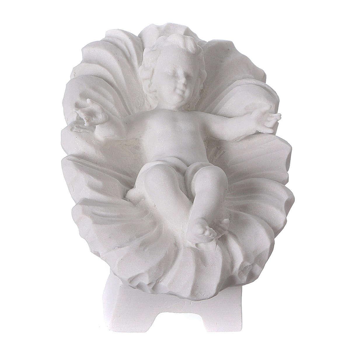 Belén completo con 7 figuras de polvo de mármol 30 cm 4