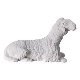 Belén completo con 7 figuras de polvo de mármol 30 cm s8