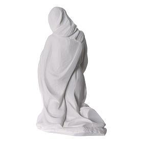 Belén completo con 7 figuras de polvo de mármol 30 cm s10