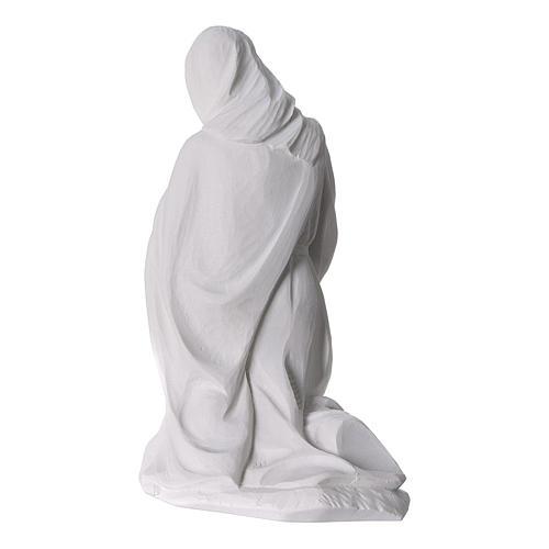 Belén completo con 7 figuras de polvo de mármol 30 cm 10