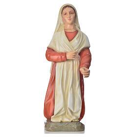 Statue of Saint Bernadette 63cm, colored marble s1