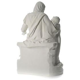 Statua Pietà marmo sintetico 100 cm s5
