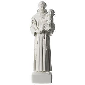 San Antonio de Padua mármol sintético 56 cm