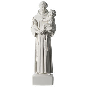 Saint Anthony of Padua composite marble statue 22 inches s1