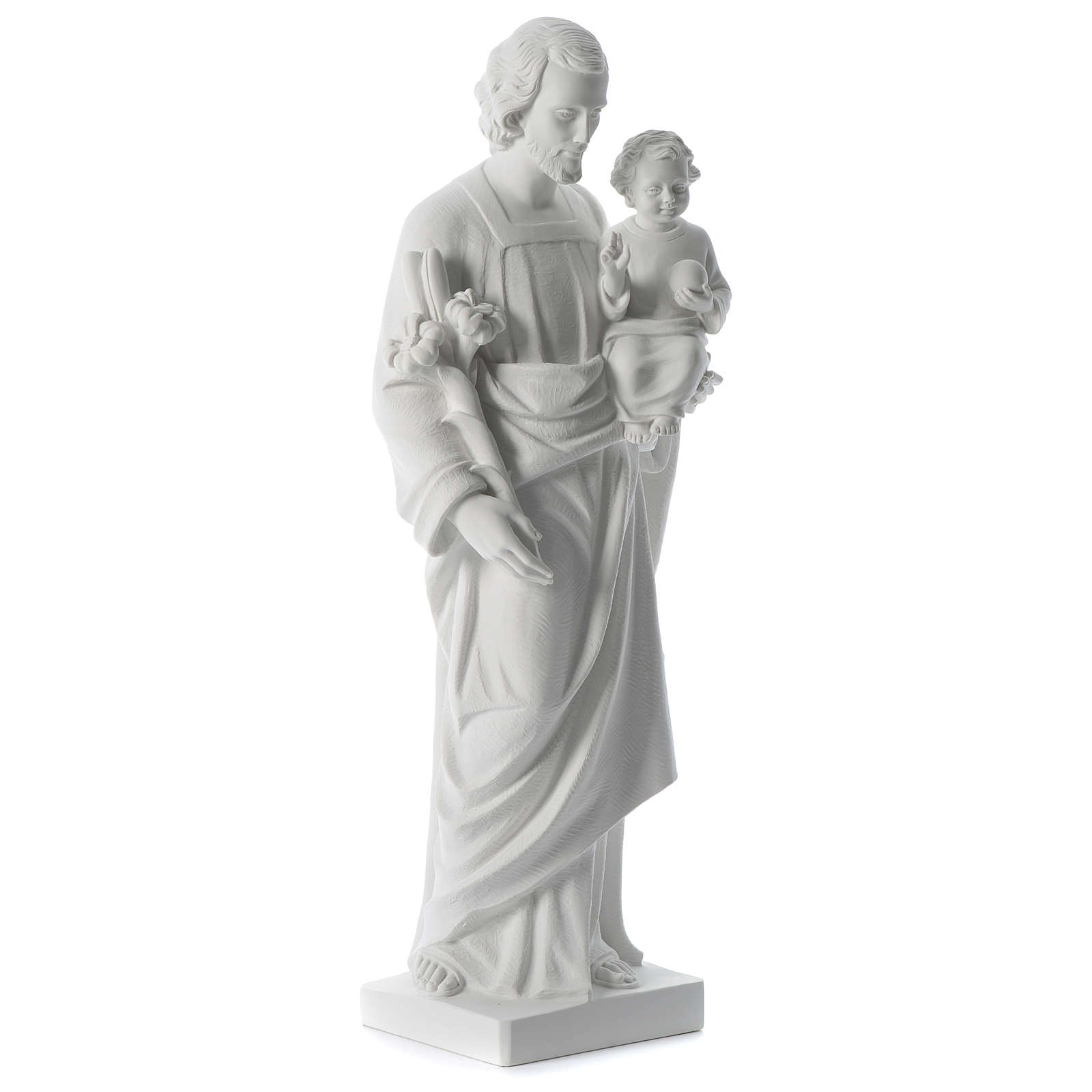 San José polvo de mármol blanco 80 cm 4