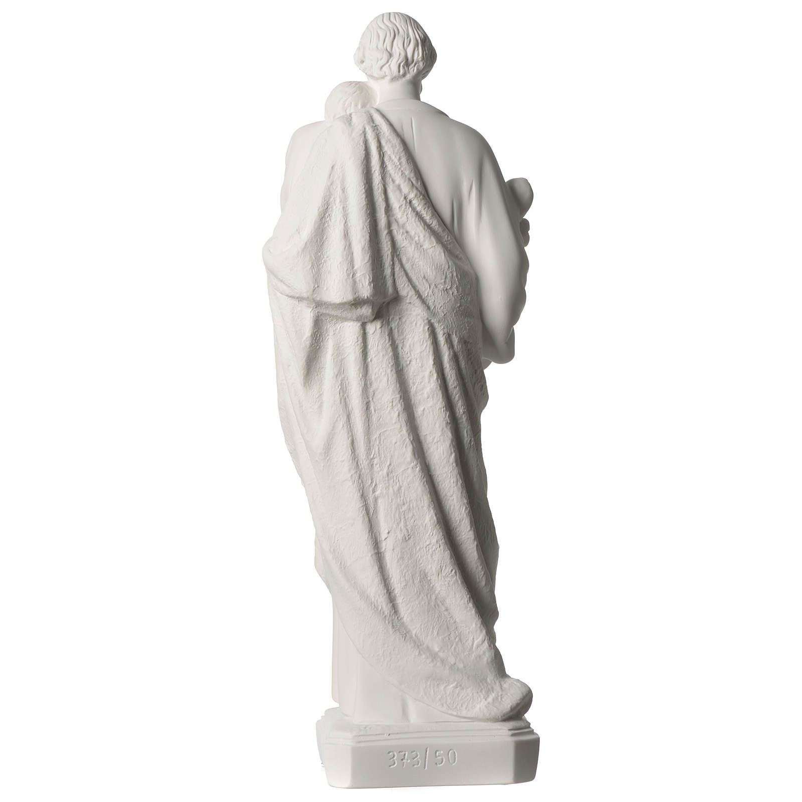 Saint Joseph statue in synthetic marble 50 cm 4