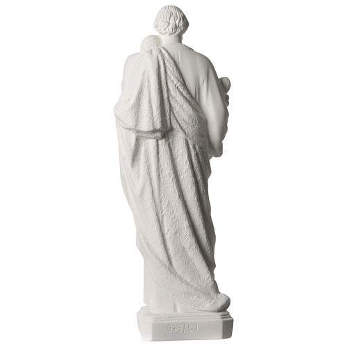 Saint Joseph statue in synthetic marble 50 cm 5