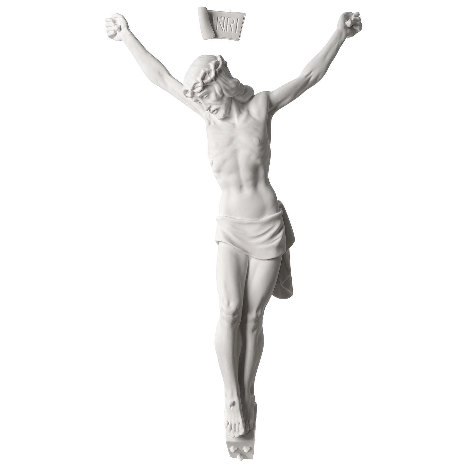 Corpo di Cristo marmo sintetico 60 cm 4