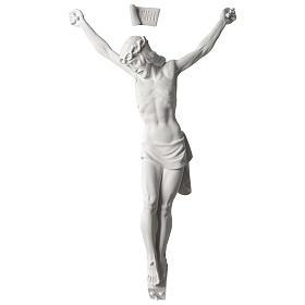 Corpo di Cristo marmo sintetico 60 cm s1