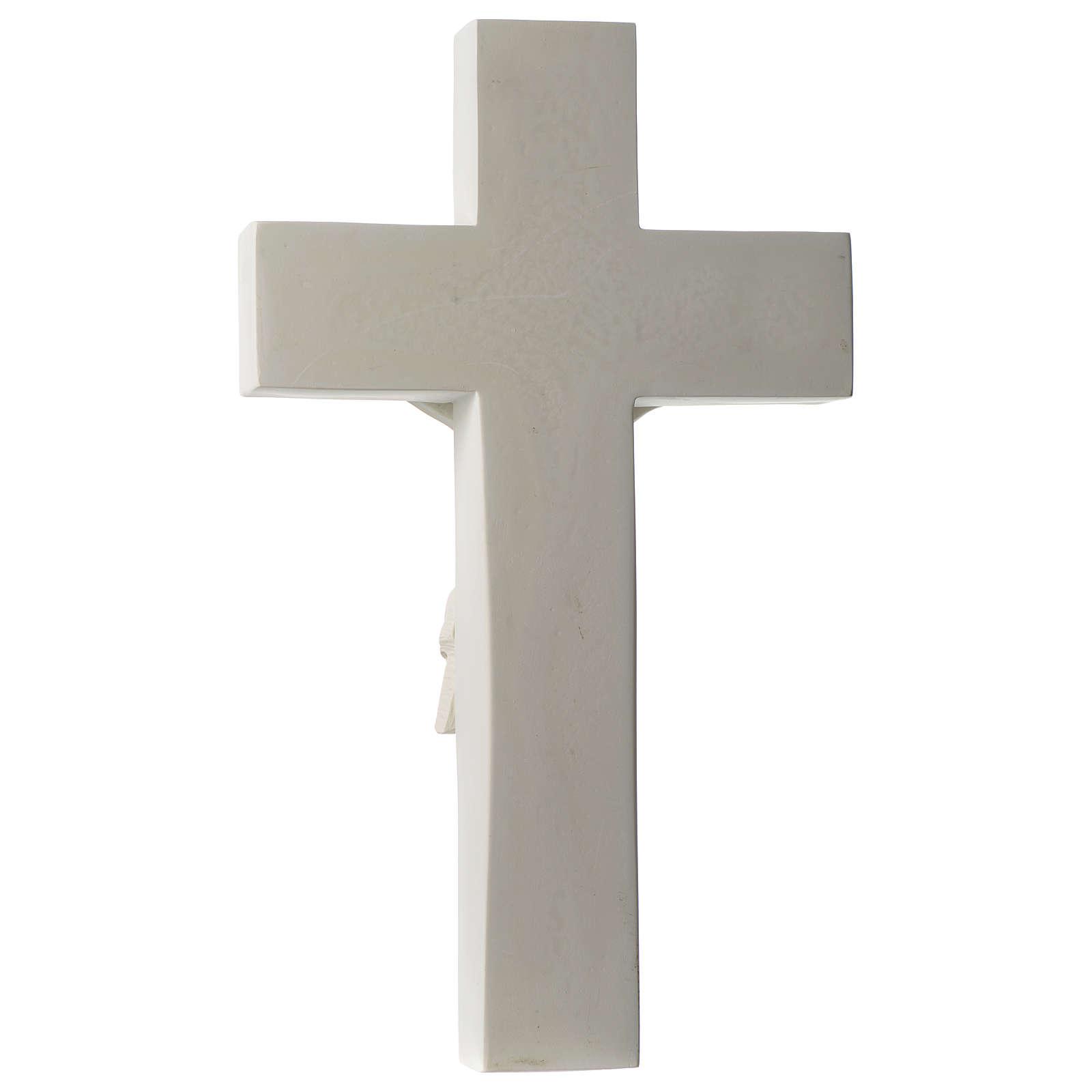 Crocifisso in marmo sintetico 60 cm 4