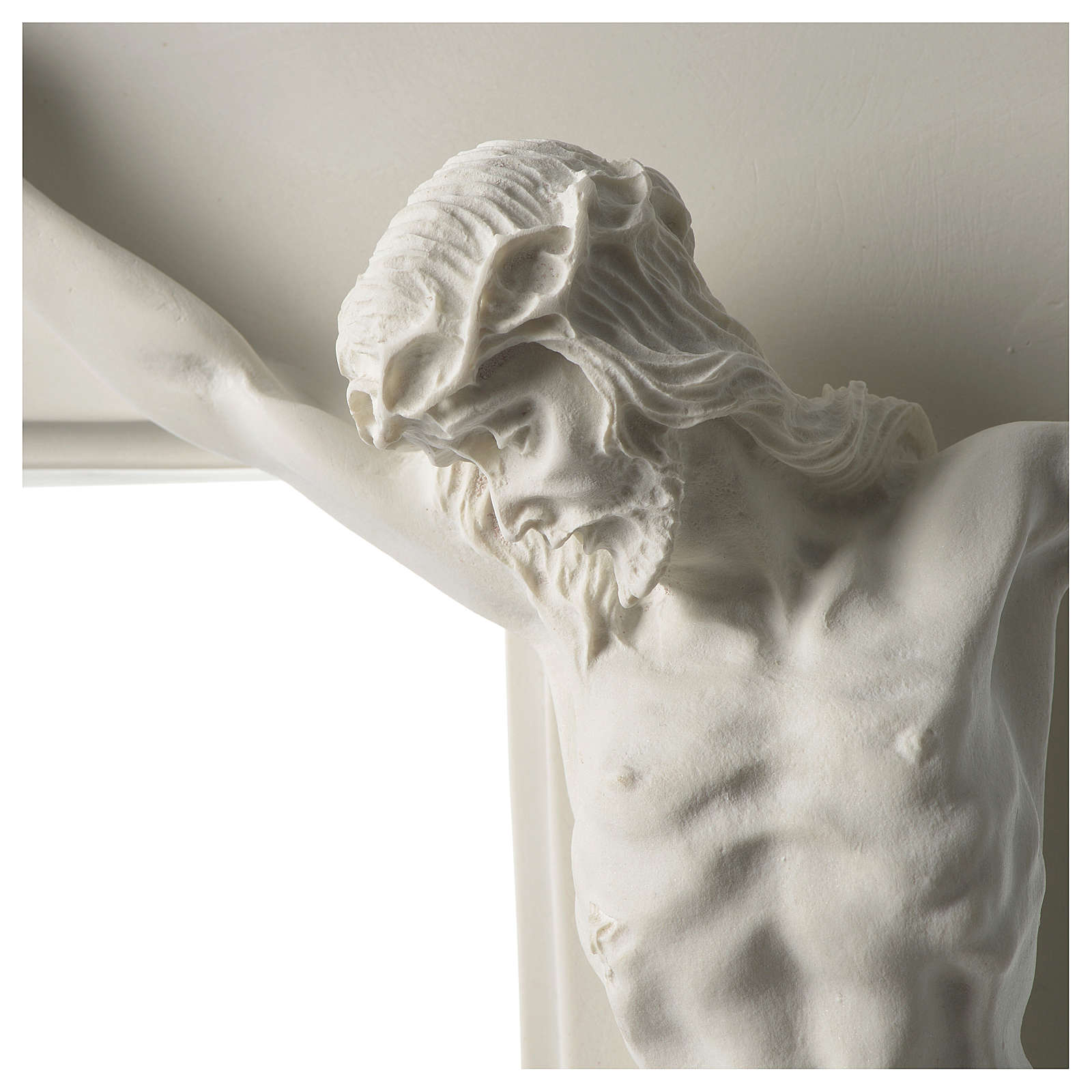 Composite marble crucifix 23.5 inches 4