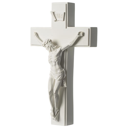 Composite marble crucifix 23.5 inches 3