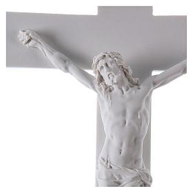 Crocifisso in marmo sintetico 50 cm s3