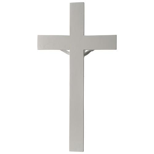 Crocifisso in marmo sintetico 50 cm 5