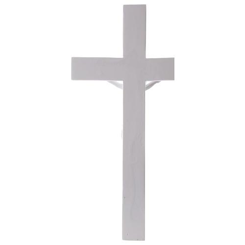 Crocifisso in marmo sintetico 50 cm 6