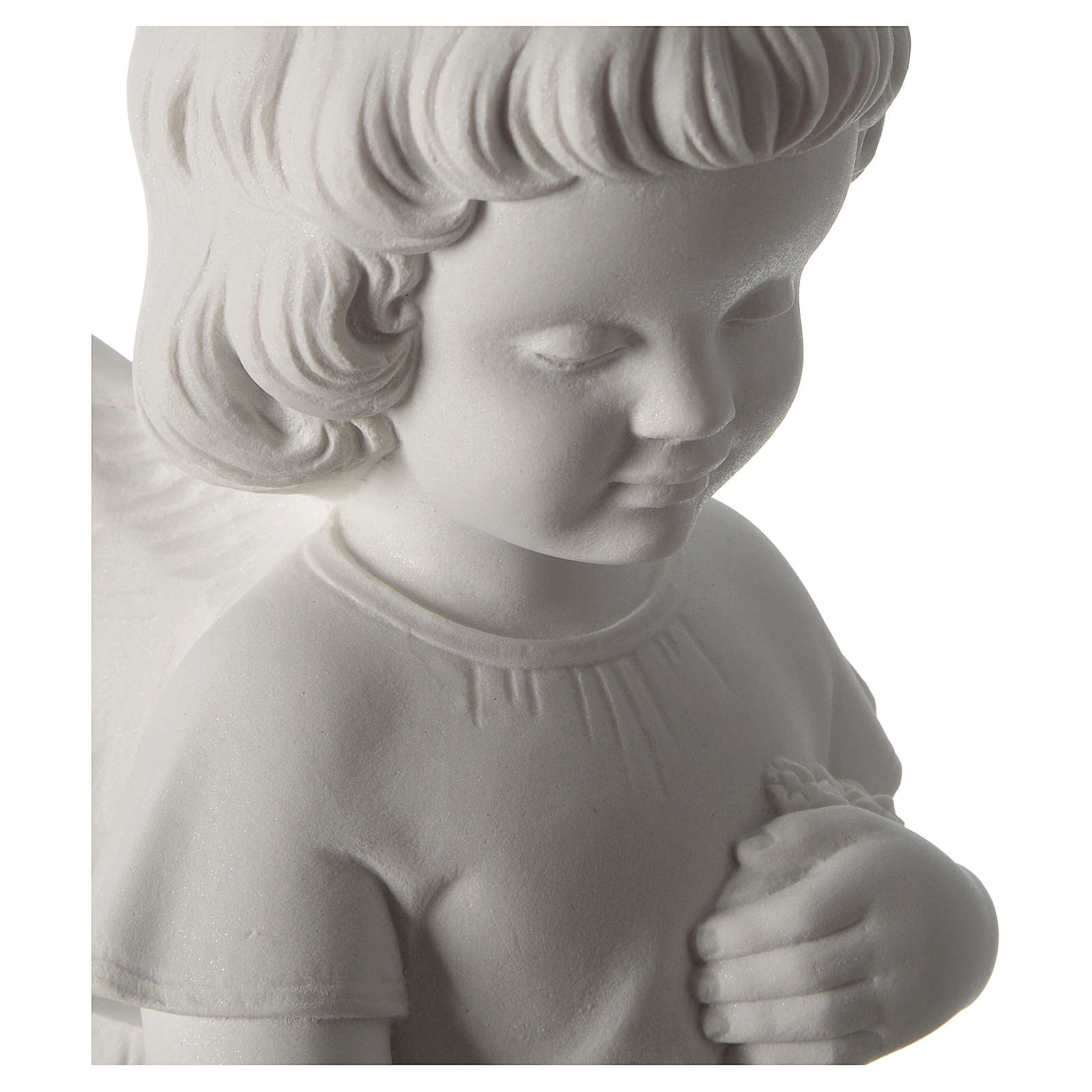 Gettafiori angioletto polvere di marmo 48 cm 4