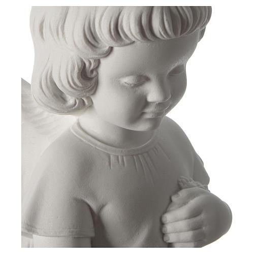 Gettafiori angioletto polvere di marmo 48 cm 2