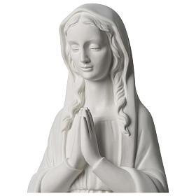 31 inc Our Lady praying composite marble statue s2