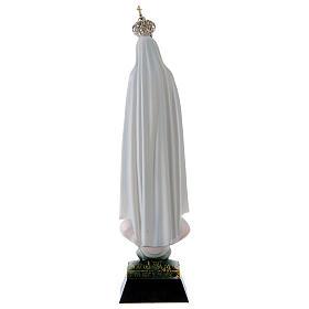 Statua Madonna di Fatima resina strass 22 cm s4