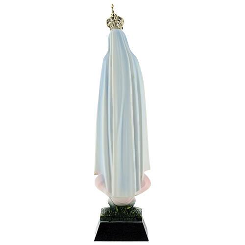 Statua Madonna di Fatima resina strass 22 cm 6