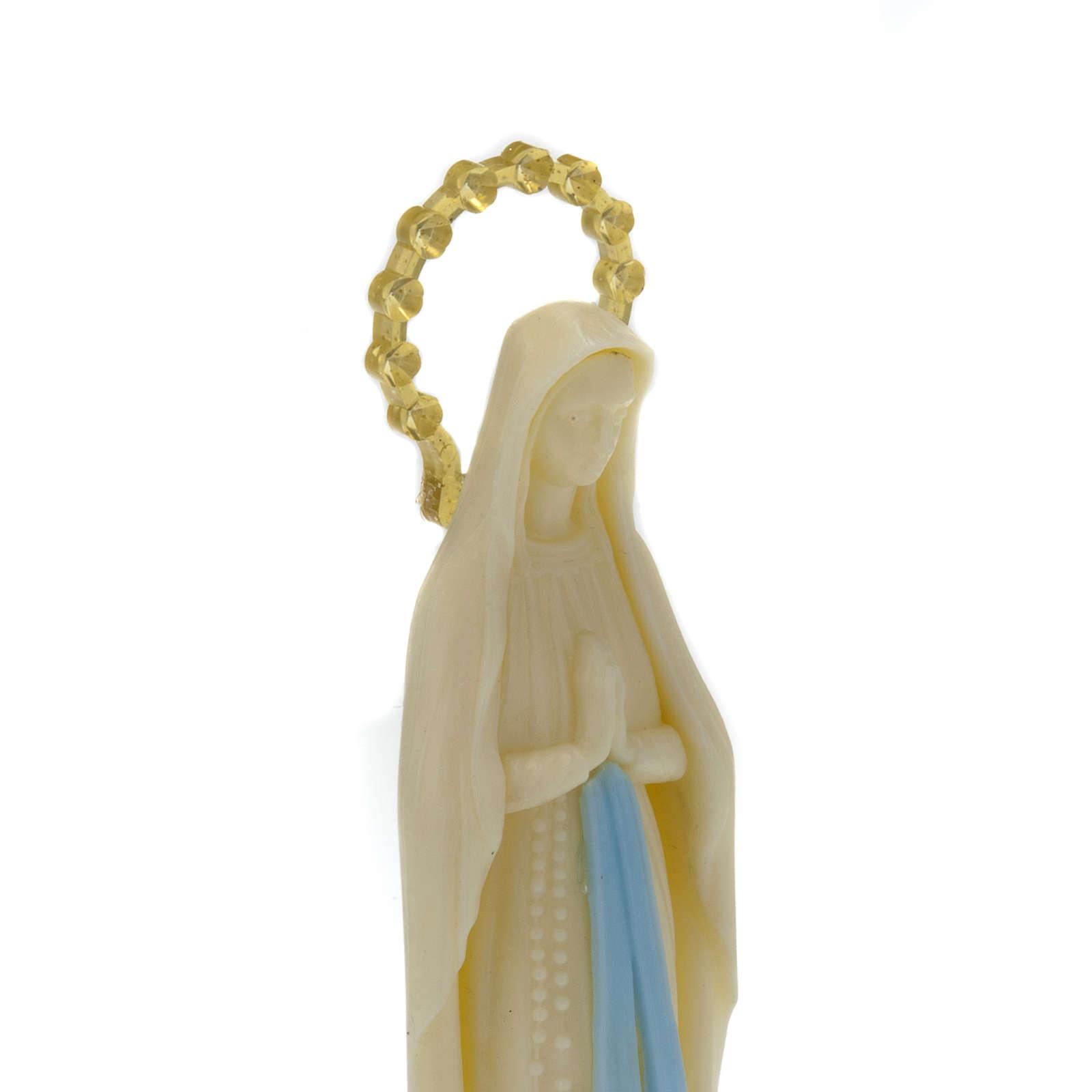Statue Vierge Miraculeuse phosphorescente 14 cm 4
