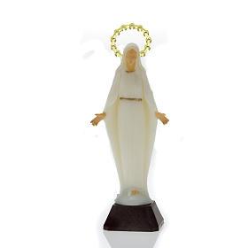 Statue Vierge Miraculeuse phosphorescente 14 cm s2