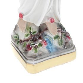 Statua Madonna di Lourdes gesso 30 cm s3