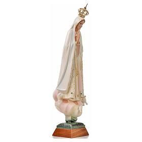 Statue Notre Dame de Fatima avec colombe peinte 45 cm s4