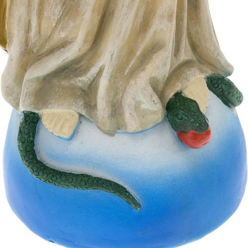 Statua della Madonna Miracolosa resina colorata 40 cm 3