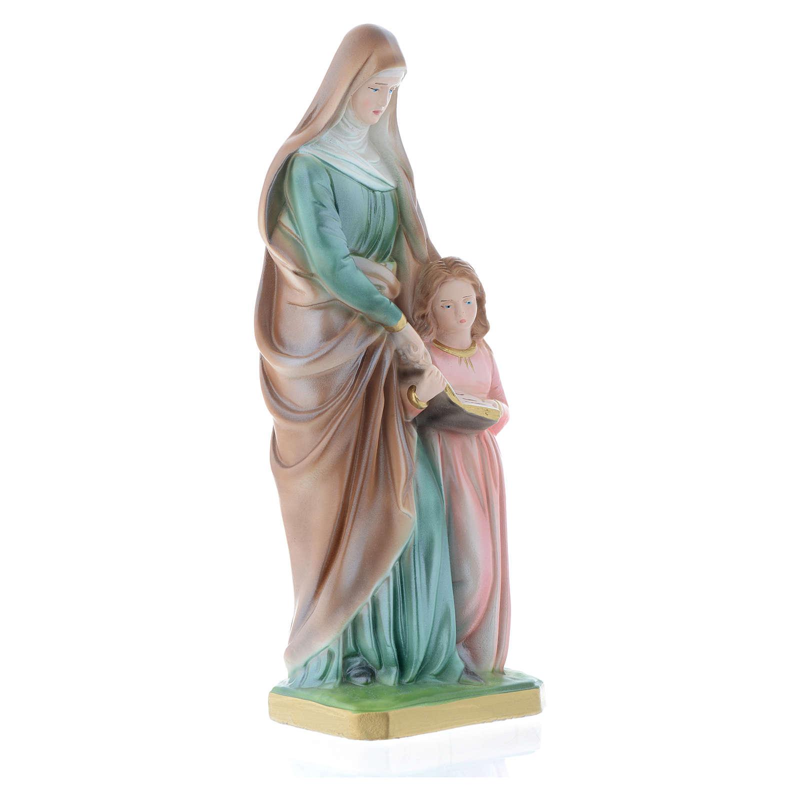 Statua Sant'Anna 30 cm gesso 4